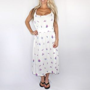 Wildfox Crystal Fairy Apron Dress in White